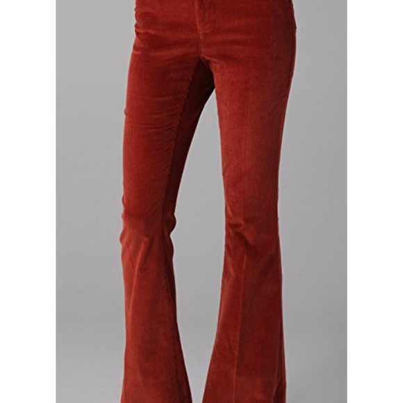 fcd994c9fc Alice + Olivia Pants - Alice+Olivia Sz0-2 Corduroy High Waist Flare Pants
